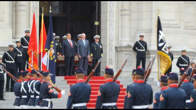 Presidente Kuczynski encabeza tradicional Cambio de Guardia