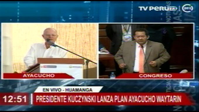 Gobierno persistirá en su trabajo y en la revolución social, señala Kuczynski