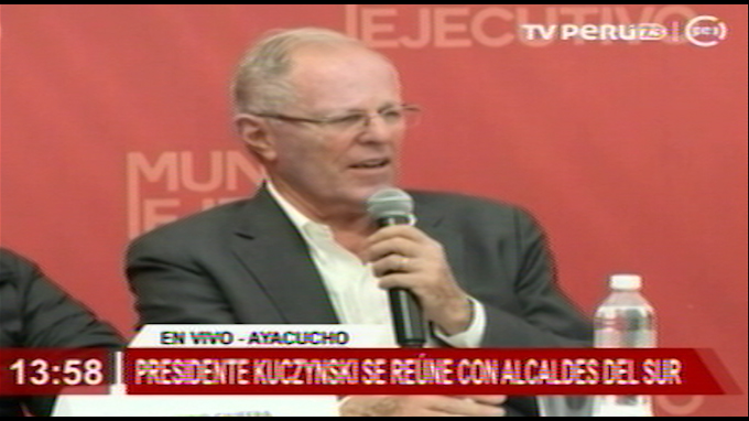 Kuczynski expresa preocupación por iniciativa del Congreso que no tiene presupuesto