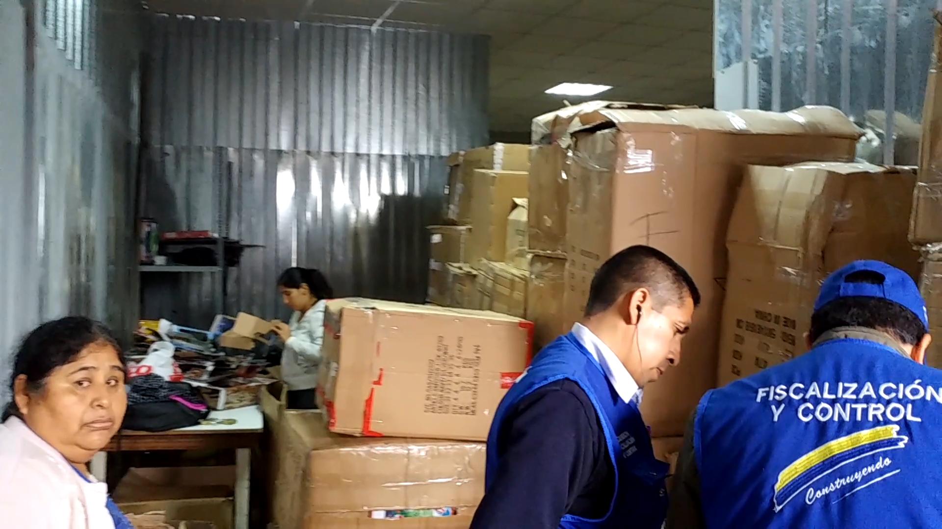 En Mesa Redonda encuentran almacenes ilegales similares a galería Nicolini