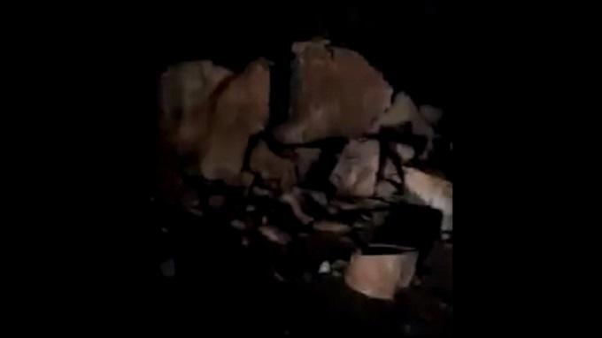 Sismo en Arequipa originó deslizamiento de rocas en La Planchada