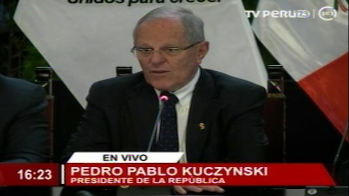 Kuczynski: Línea 2 y Aeropuerto Jorge Chávez tendrán impacto de 1 punto en PBI