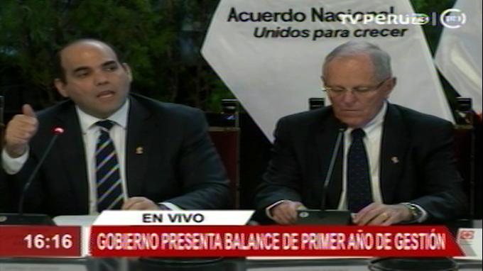 Acuerdo Nacional sirvió para mejorar agenda de segundo año de gestión