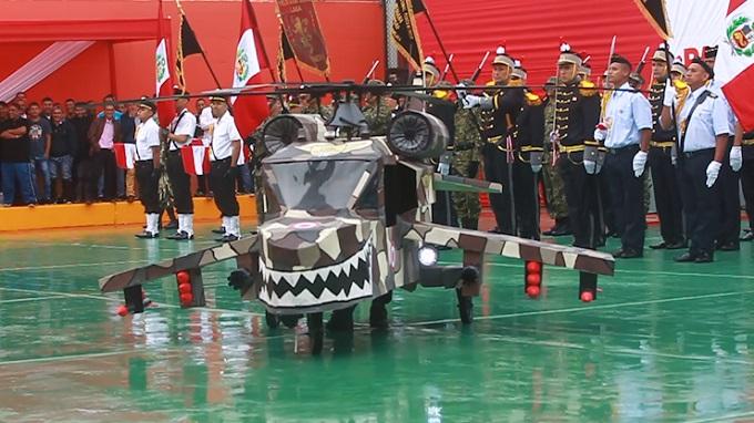Fiestas Patrias: mire el esmerado desfile de los internos del penal Callao