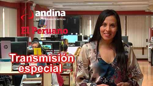 Fiestas Patrias: Andina hará transmisión especial