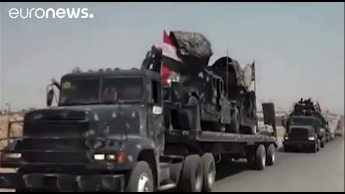 Irak lanzó ofensiva en Tal Afar, último bastión del EI en la región de Mosul