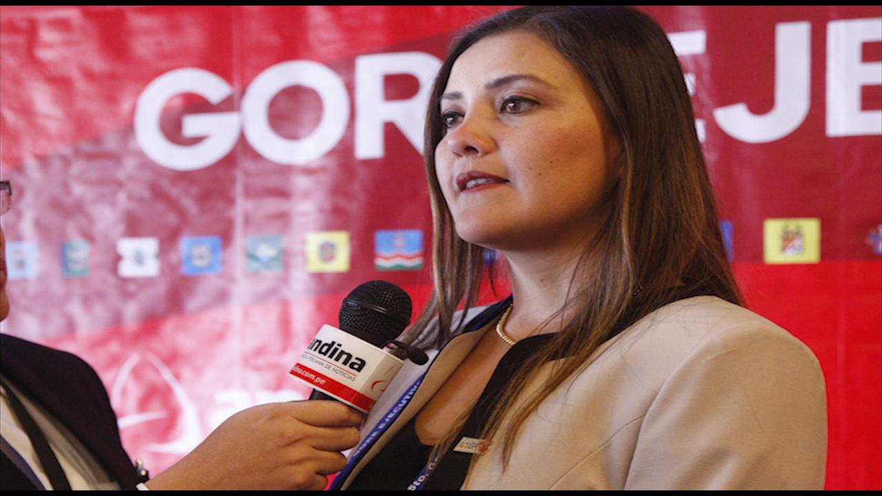 Yamila Osorio: queremos trabajar en la reconstrucción