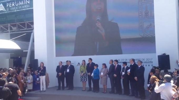 Perumin se inauguró en Arequipa