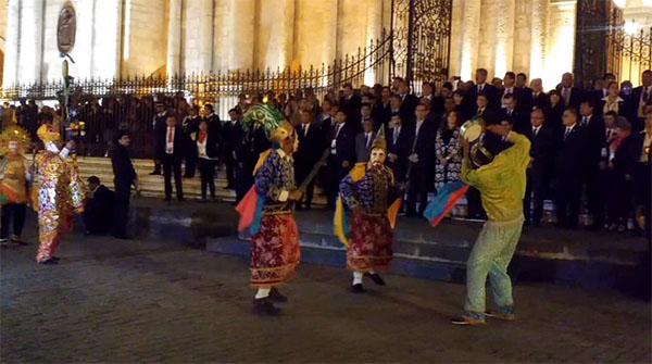 Perumin: Arequipa recibió con fiesta folclórica a participantes