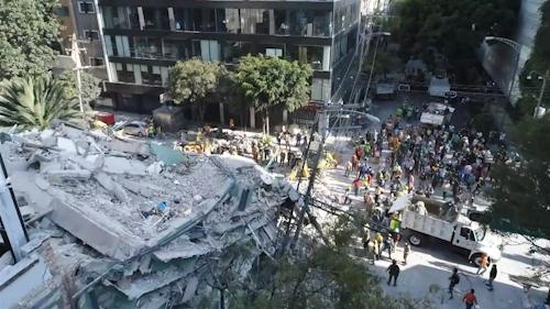 Mas de 200 fallecidos tras terremoto en México