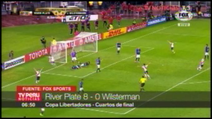 Copa Libertadores: River Plate goleó 8-0 al Wilstermann de Roberto Mosquera