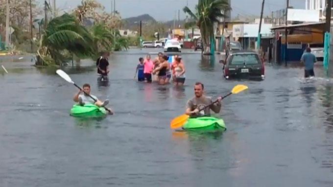 70,000 puertorriqueños evacuarán por falla de represa tras huracán María
