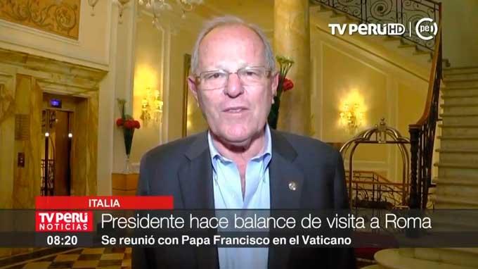 Mandatario: misión cumplida, esperamos en Lima al Papa Francisco