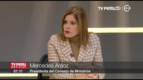 Mercedes Aráoz: Gabinete apoya a empadronadora que denunció violación