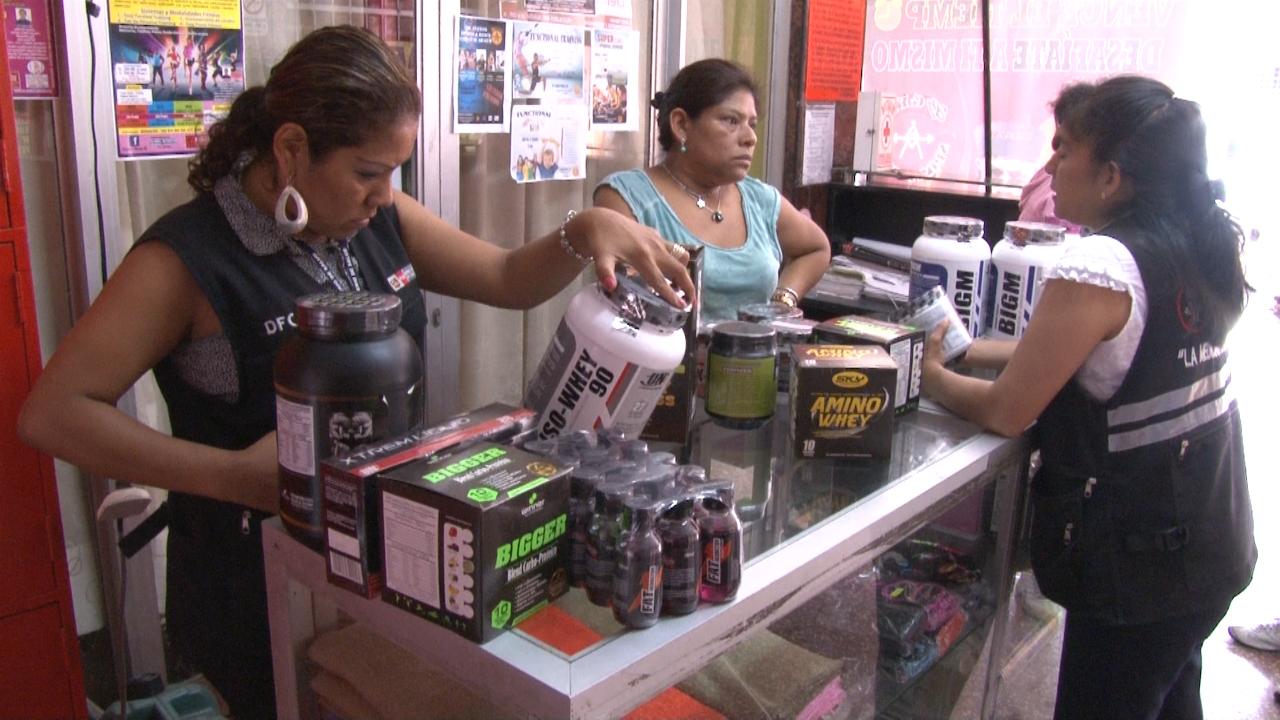 Realizan operativos en gimnasios que venden productos bamba for Productos gimnasio