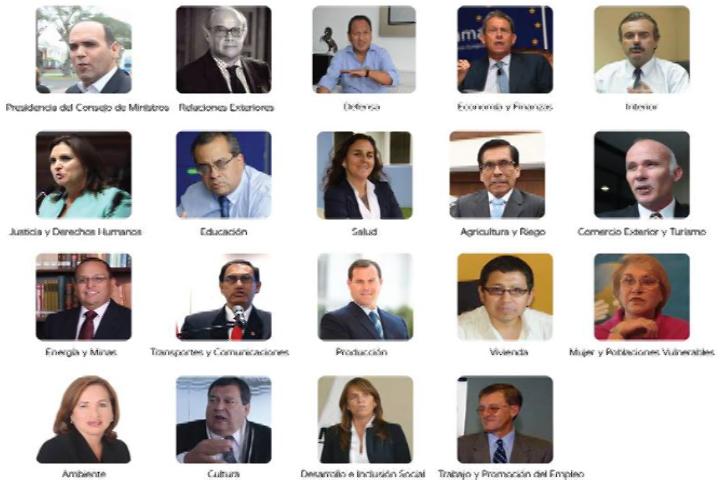 Qui n es qui n en el pr ximo gabinete ministerial for Ministros del peru