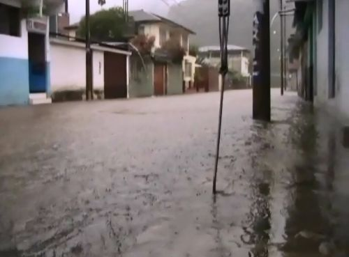 lluvias fuertes en Junín