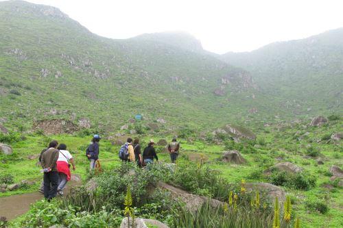 Se implementará una ruta especial para el 'trekking'
