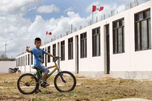 Familias de Lambayeque podrán acceder a nuevas viviendas.