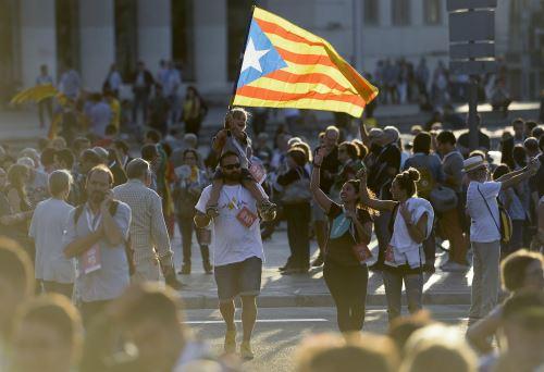 Apoyo a independencia de Cataluña
