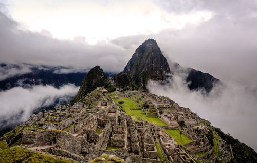 Machu Picchu es uno de los sitios amenazados por el cambio climático.